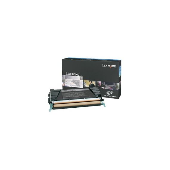 TONER NERO NON RETURN PROGRAM C736 X736 X738 ALTA CAPACITA