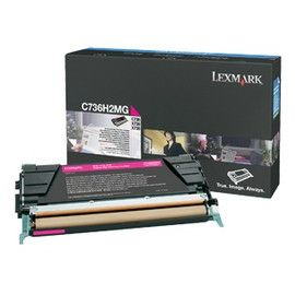 TONER MAGENTA NON RETURN PROGRAM C736 X736 X738 ALTA CAPACITA