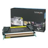 TONER GIALLO NON RETURN PROGRAM C736 X736 X738 ALTA CAPACITA