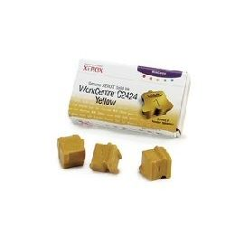 SOLID INK GIALLO ORIGINALE PER XEROX WORK-CENTRE C2424 (3 STICK)