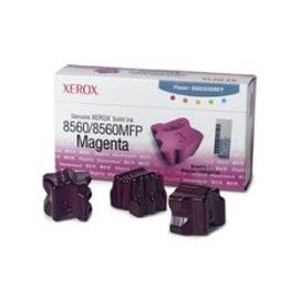 3 STICK SOLID INK MAGENTA PHASER 8560