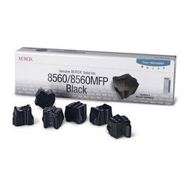 6 STICK SOLID INK NERO PHASER 8560