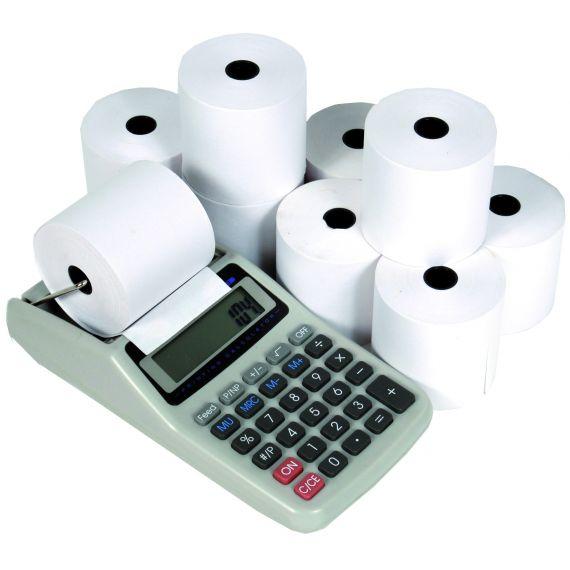ROTOLI IN LINEA - per registratori di cassa carta termica omologata mm 60x60 m