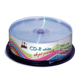 CD-R STAMPABILE INK-JET TORRE 25 CD IN LINEA