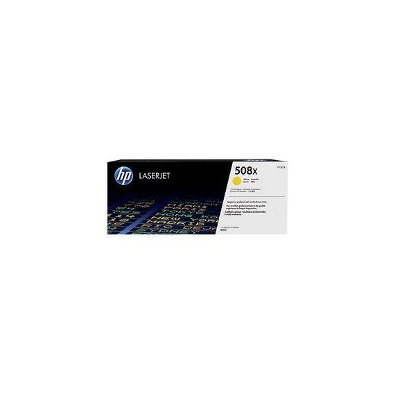HP 508X TONER CARTRIDGE GIALLO LASER JET SERIE M552/M553 ALTA CAPACITA