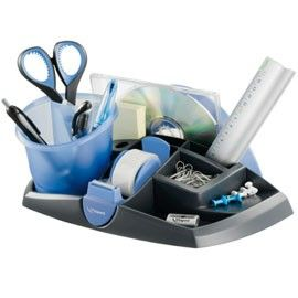 DESK ORGANIZER Ergologic NERO/BLU 13 SCOMPARTI Maped