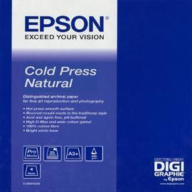 EPSON COLD PRESS NATURAL PAPER, IN ROTOLI DA 152, 4CM X 15, 2M